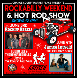 Rockabilly Weekend at the OC Marketplace