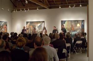 Music and Conversation at Jack Rutberg Fine Arts