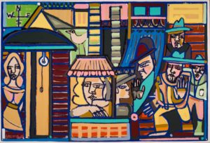 Artist reception: America Martin at JoAnne Artman Gallery – Art and